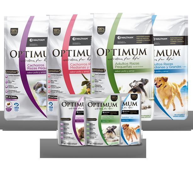 Alimento Super Premium para Perros Optimum