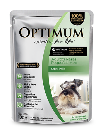 OPTIMUM PET Adultos Razas Pequeñas - Alimento Húmedo