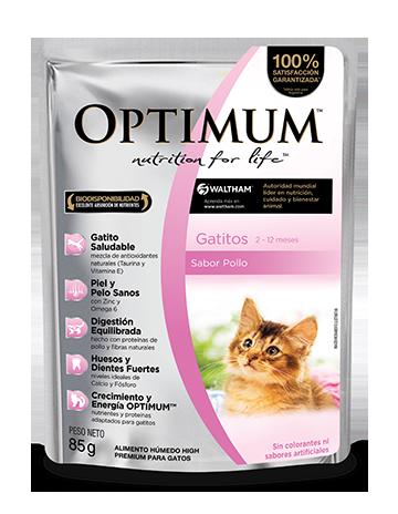 OPTIMUM PET - Gatitos - Alimento Húmedo